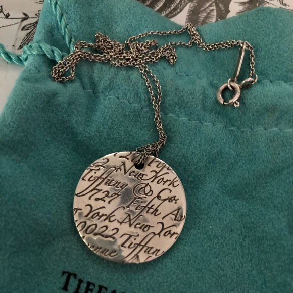 dd1020677a830 Tiffany's Notes Necklace